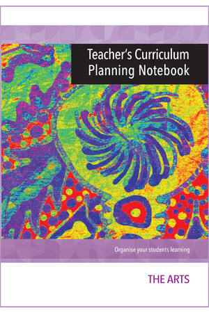 Teacher's Curriculum Planning Notebook - Arts