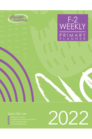 Primary Planner (Foundation to Year 2) 2020 (Weekly) - Wiro Bound