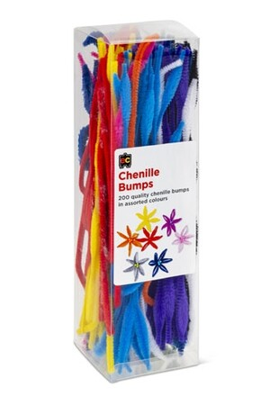 Chenille Stems (30cm) - Pack of 200: Bumps