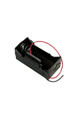 Battery Holder - 1C with Leads