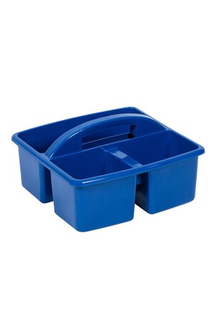 Small Plastic Caddy - Blue