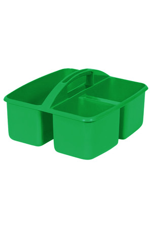 Small Plastic Caddy - Primary Green