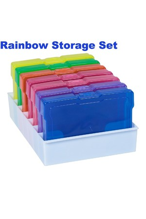 Rainbow Storage Set