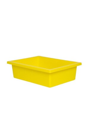 Plastic Tote Tray - Yellow