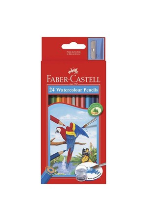 Faber-Castell Coloured Pencils - R/Range Watercolour - Pack of 24