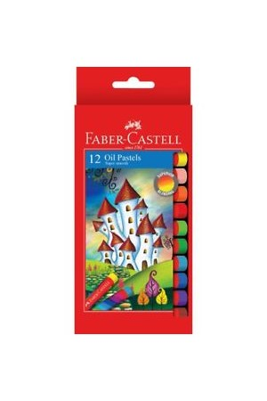Faber-Castell Oil Pastels - Box of 12
