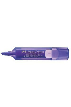 Faber-Castell Highlighters - Textliner 1546: Violet (Box of 10)