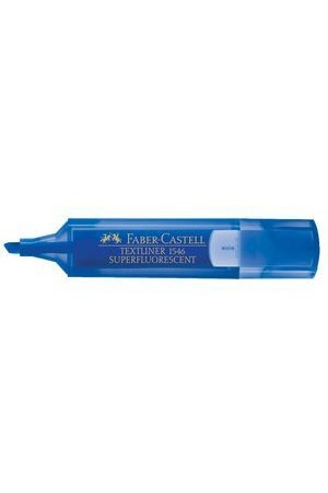Faber-Castell Highlighters - Textliner 1546: Blue (Box of 10)