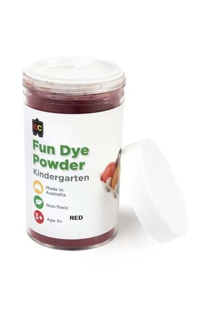 Craft Fun Dye Powder 100gms - Red