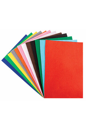 Felt Acrylic Value Pack (A4) - Pack of 48