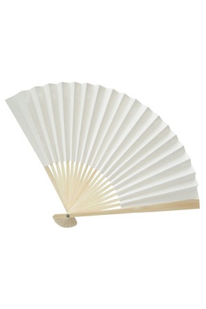 Paper Fans - Large (22cm): Pack of 10