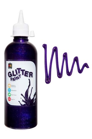 Glitter Paint 500mL - Fairy Purple