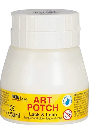 Art Potch Varnish Glue (250mL) - Matte