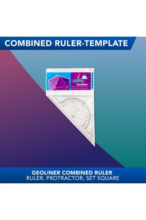 Geoliner Combined Square & Protractor