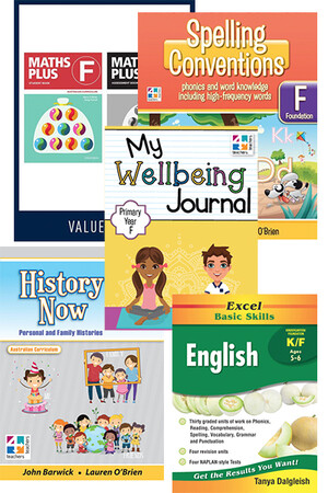 Home Education Bundle - Australian Curriculum: Foundation