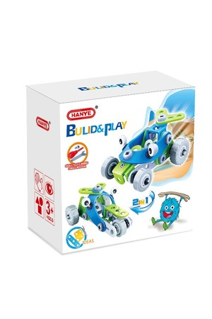 Hanye Build & Play - 2-in-1 Series (52 Pieces)