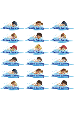Swim Fun - Reward Stickers