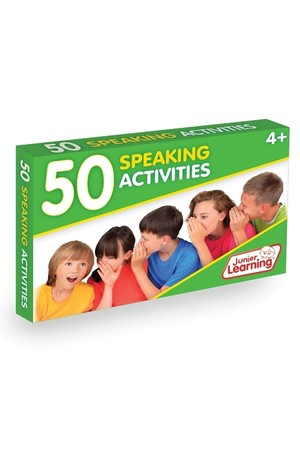 50 Speaking Activity Cards