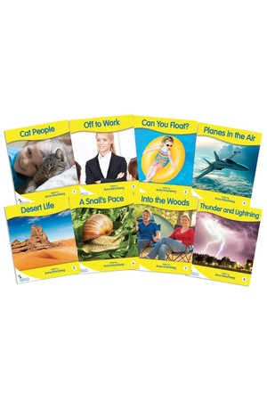 Fantail Readers - Non-Fiction - Yellow (Levels 6-8)