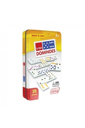 Six Dot Dominoes