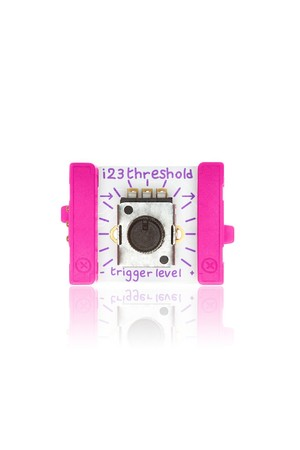 littleBits - Input Bits: Threshold
