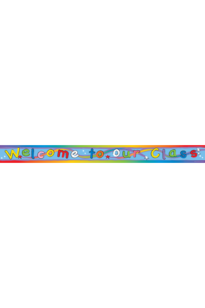 Welcome to Our Class Large Border