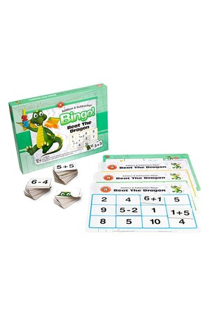 Beat the Dragon Bingo - Addition and Subtraction