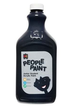 People Paint Junior Acrylic Paint 2L - Flesh Tone Ebony