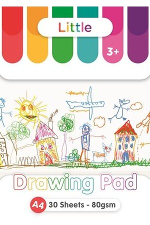 Little Drawing Pad A4 - 30 sheet (80gsm)