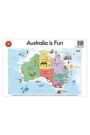 Australia is Fun Placemat