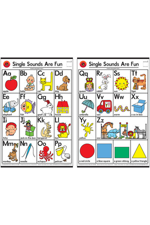 Single Sounds Are Fun Charts - Set of 2