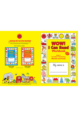 WOW! I Can Read Workbook Stage 2 - Blends & Ends: NSW Foundation Handwriting