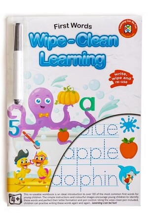 Wipe-Clean Learning - First Words