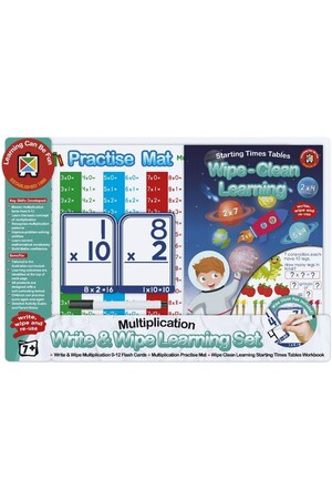Write & Wipe - Multiplication Set