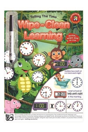 Wipe-Clean Learning - Telling the Time