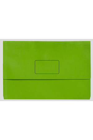 Marbig Document Wallet (A3) - Slimpick: Lime