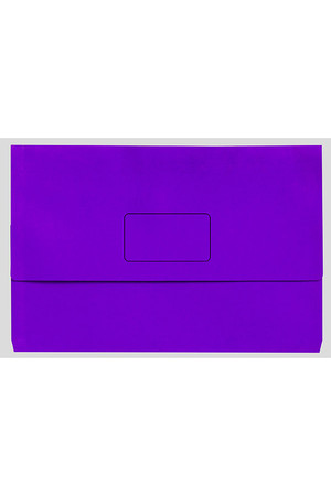 Marbig Document Wallet (A3) - Slimpick: Purple