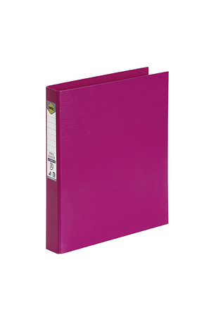 Marbig Binder (A4) - PE 2 D-Ring 25mm: Pink