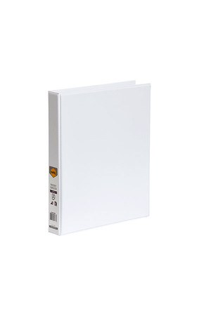 Marbig Binder Insert (A4 Clearview) - 4 D-Ring 25mm: White