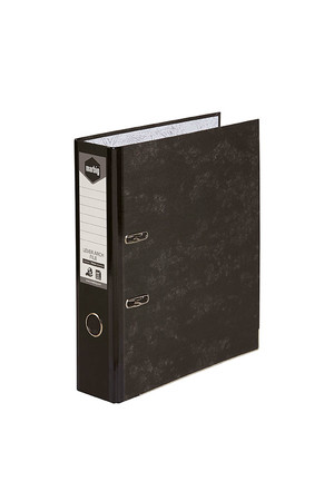Marbig Lever Arch File - A4: Spine Black