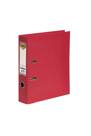 Marbig Lever Arch File A4 - PE: Deep Red
