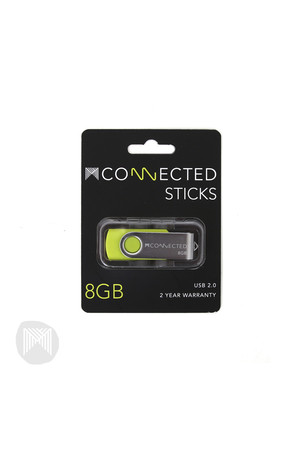 MConnected Stick - USB Flash Drive: 8GB