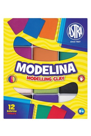 Modelina Modelling Clay - Pack of 12