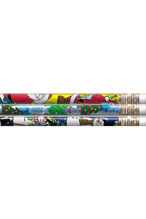 Holiday Charm Pencils - Pack of 10