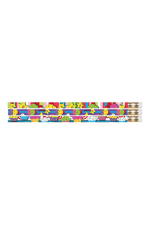 Cupcakes Pencils - Pack of 10