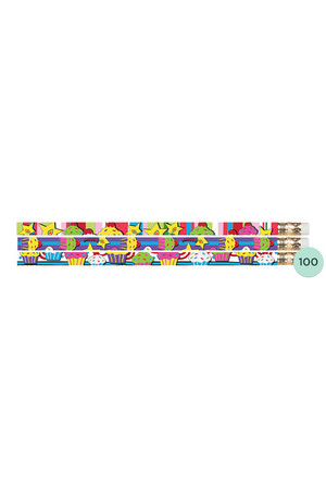 Cupcakes Pencils - Box of 100