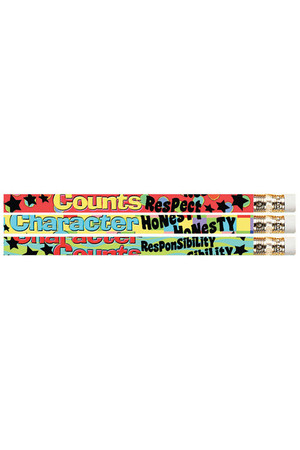 Character Matters Pencils - Pack of 10