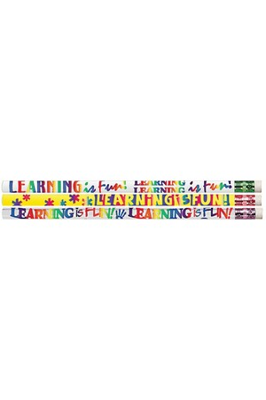 Learning is Fun Pencils - Pack of 100