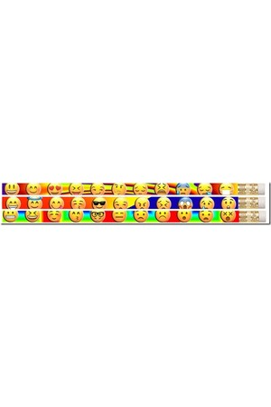 Feeling's Emojis Pencils - Pack of 10