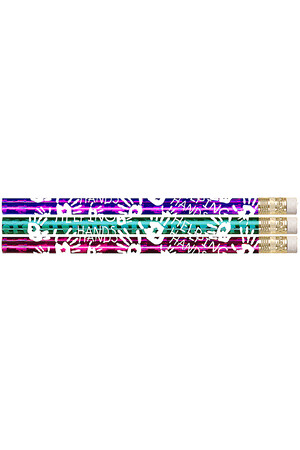 Sparkling Hands Jumbo Pencils - Pack of 8